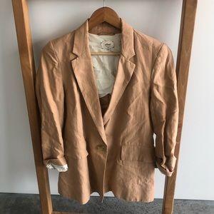 Wilfred Camel linen blazer